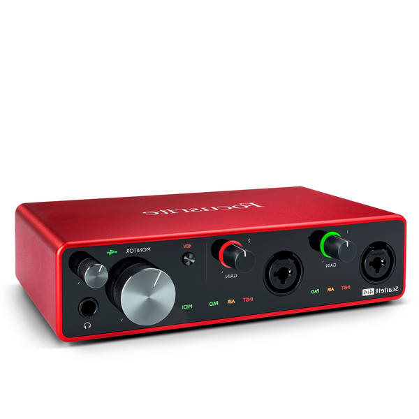 Focusrite drivers - La sélection