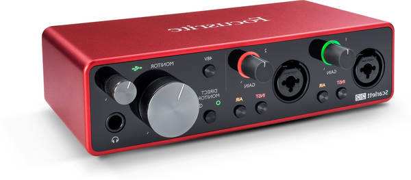 Focusrite scarlett solo 3rd gen audio interface - prix sacrifié