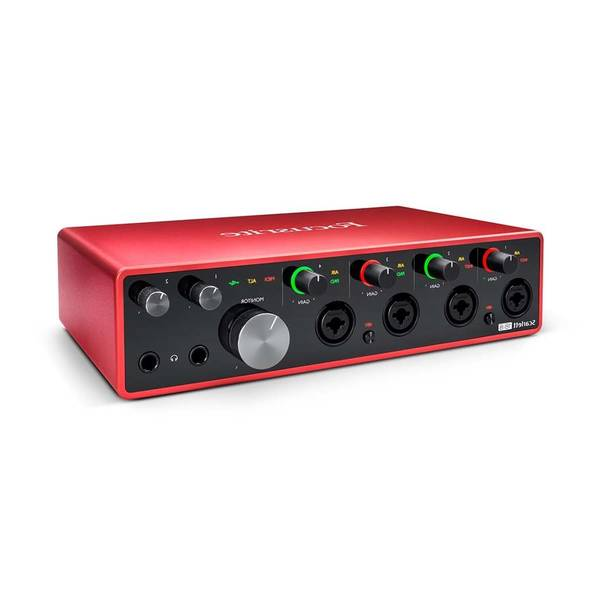 Focusrite scarlett solo 3rd gen audio interface - Avis